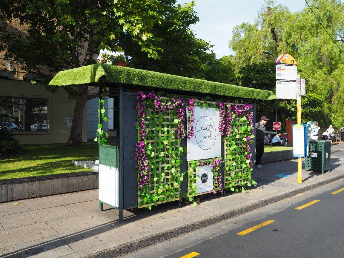 Adelaide Bus Stop Activations